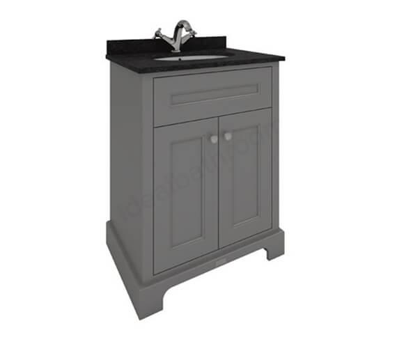 RAK Washington 600mm Wide Traditional Floor Standing 2 Door Vanity Unit