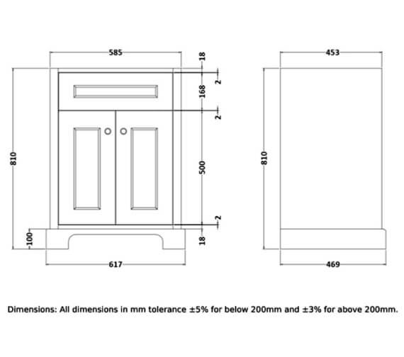 Technical drawing QS-V103068 / RAKWBU60503