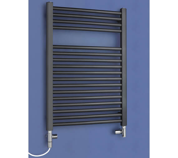 Alternate image of Bisque Deline Towel Radiator
