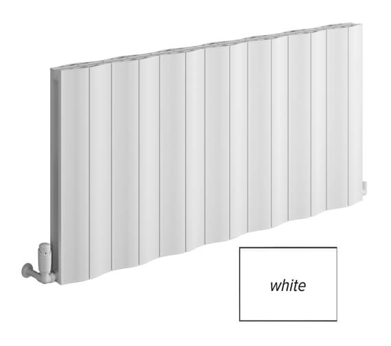 Reina Wave 600mm High Double Horizontal Aluminium Radiator