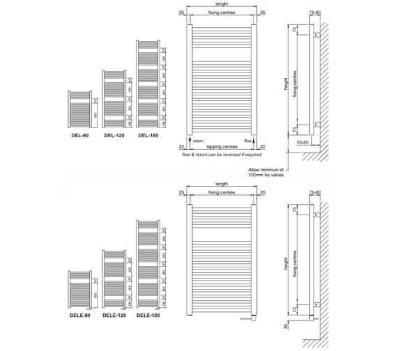 Technical drawing QS-V102769 / DEL-80-50-9016