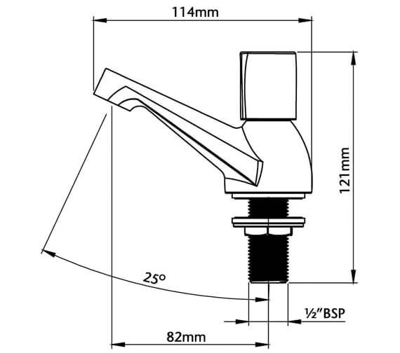 Technical drawing QS-V80824 / UNEXTPBAS