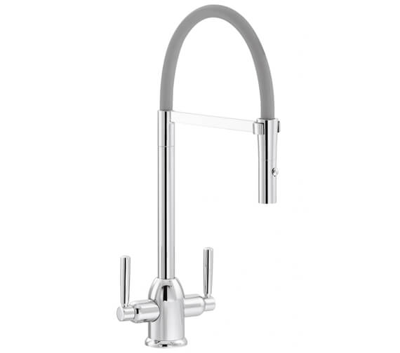 Additional image of Carron Phoenix Dante Pull-Out Kitchen Sink Mixer Tap
