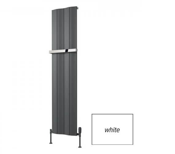 Reina Wave 1800mm High Single Vertical Aluminium Radiator