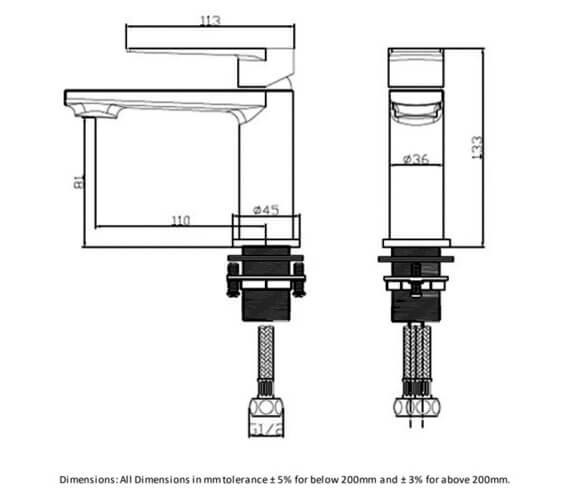 Technical drawing QS-V103064 / RAKBLD3002