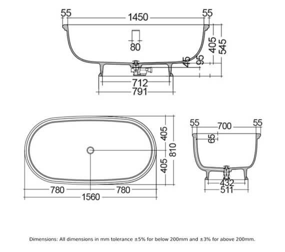 Technical drawing QS-V103071 / WTBT15681500