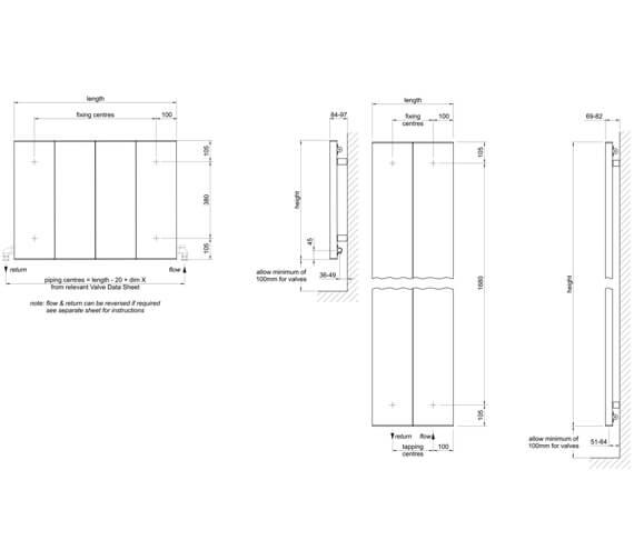Technical drawing QS-V102770 / LI-60-80-9010