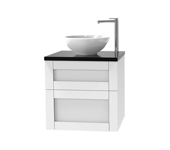 Miller London Double Drawer Wall Hung Vanity Unit