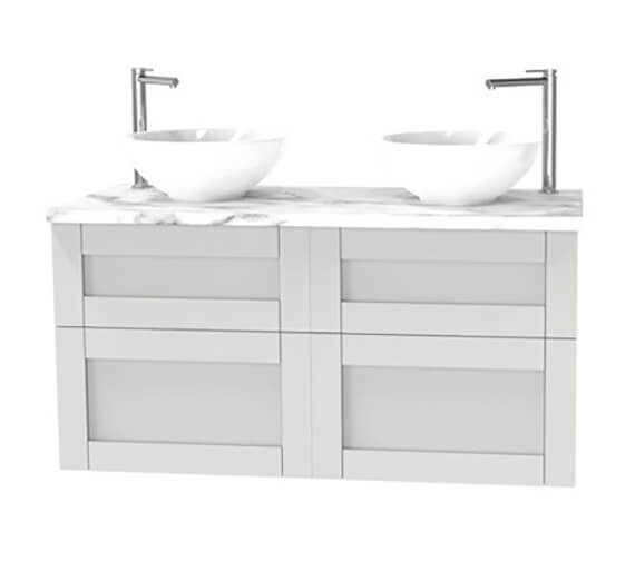 Miller London 1200mm Four Drawer Wall Hung Vanity Unit