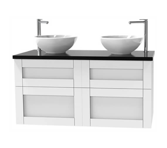 Additional image of Miller London 1200mm Four Drawer Wall Hung Vanity Unit
