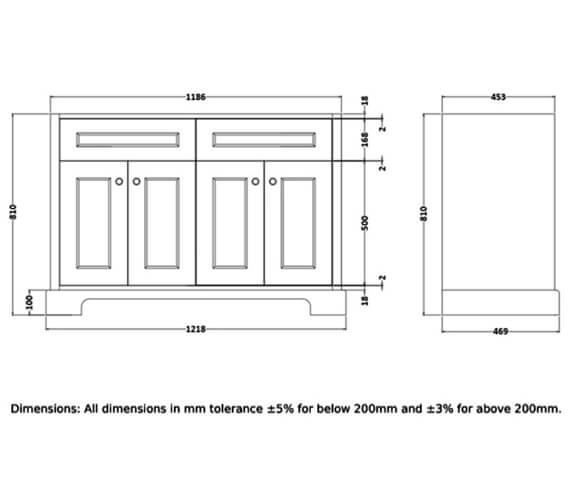 Technical drawing QS-V103069 / RAKWBU120503