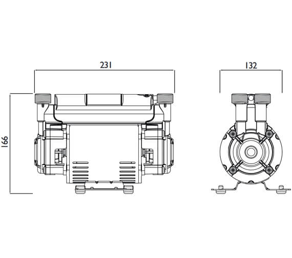 Technical drawing QS-V63032 / ST PUMP15TN