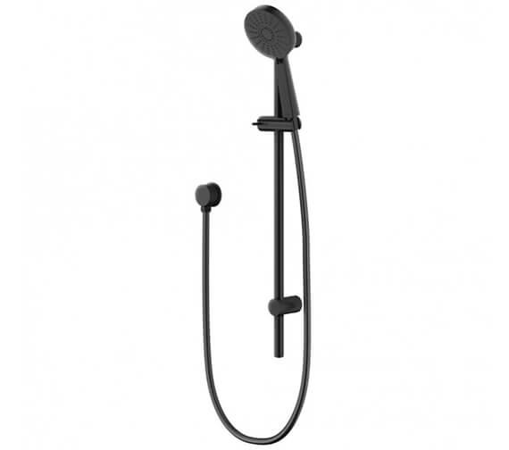 Methven Matte Black Shower Rail With Handset