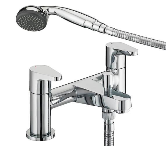 Bristan Quest Bath Shower Mixer Tap With Kit - QST BSM C