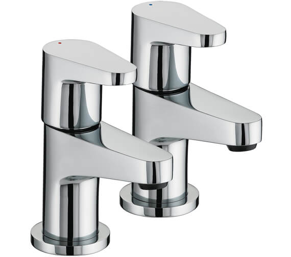 Additional image of Bristan Quest Deck Mounted Basin Tap Pair
