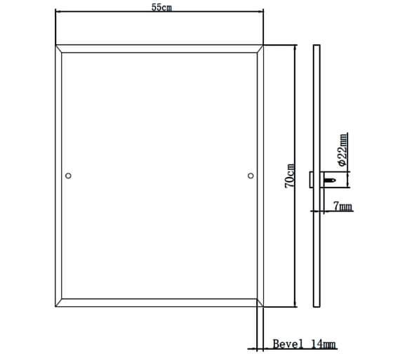 Technical drawing QS-V6940 / COMP MRRE C