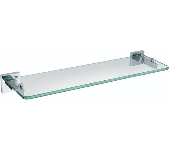 Bristan Square Glass Shelf