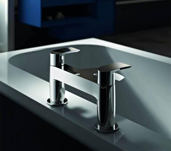 Abode Loop Deck Mounted Bath Filler Tap