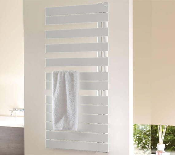 Zehnder Roda Spa Asymmetrical Electric Immersion Towel Rail With Radio Frequency Remote Programmer