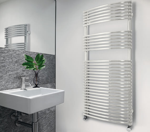 Zehnder Sfera Bow Towel Rail
