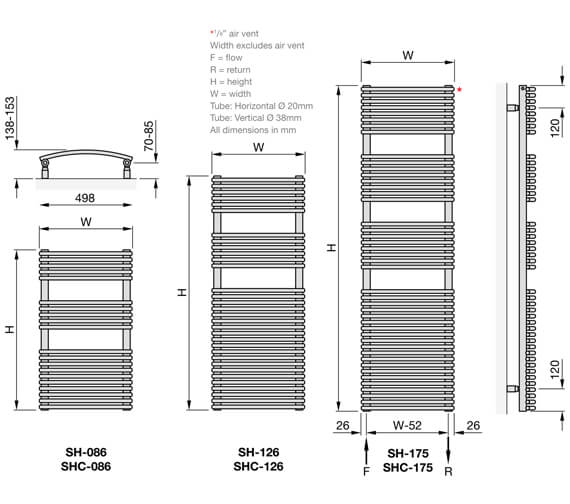 Technical drawing QS-V102694 / SH-086-050