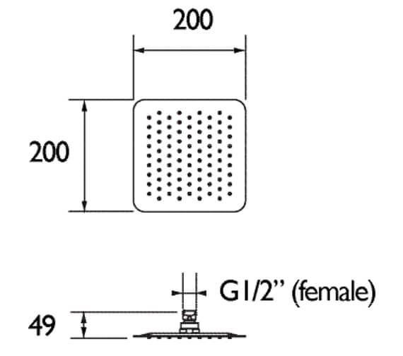 Technical drawing QS-V79172 / FH SLSQ01 C