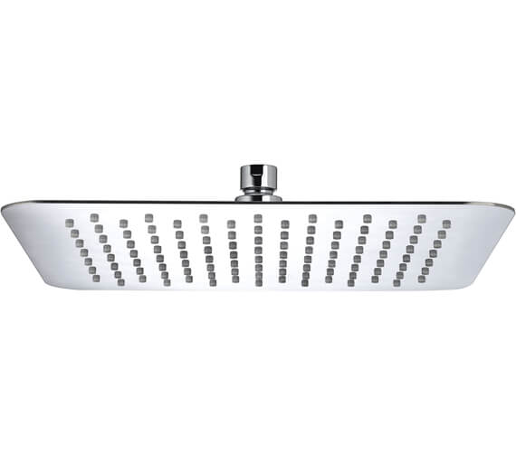 Alternate image of Bristan Square Stainless Steel Slimline Fixed Shower Head
