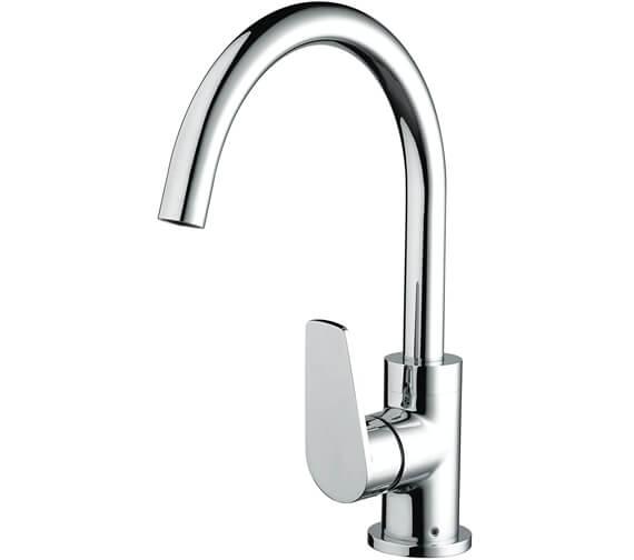 Bristan Raspberry Chrome Kitchen Sink Mixer Tap With EasyFit Base