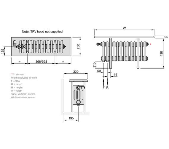 Technical drawing QS-V102699 / CR5026-13