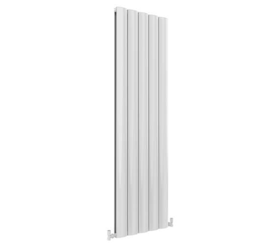 Reina Belva 1800mm High Double Panel Aluminium Vertical Radiator