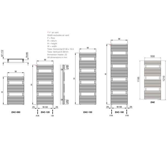 Technical drawing QS-V102697 / ZAE-120-050/GF