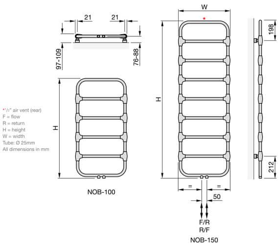 Technical drawing QS-V102698 / NOB-100-050