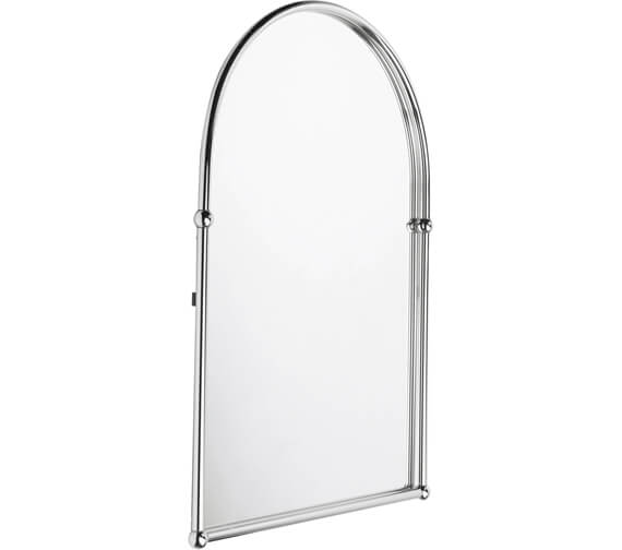 Bristan Solo Wall Hung Arched Mirror