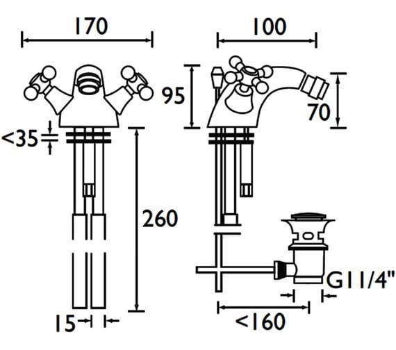 Technical drawing QS-V53087 / R BID C