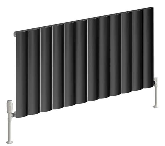 Alternate image of Reina Belva 600mm High Single Panel Horizontal Radiator
