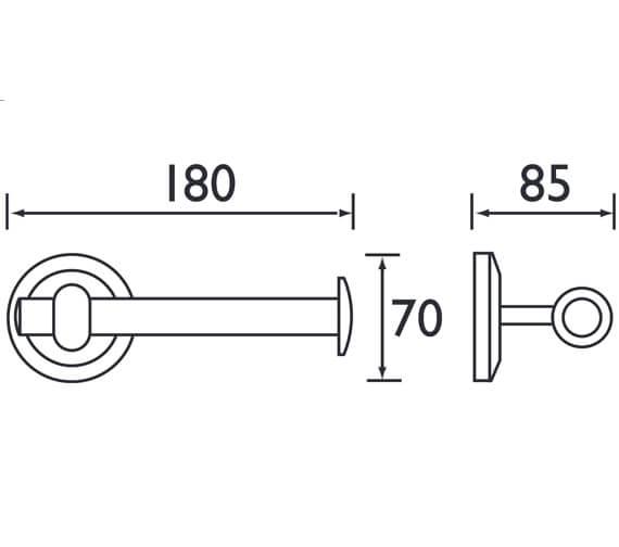 Technical drawing QS-V61615 / SO TOIL C