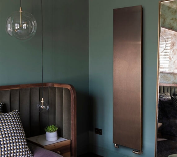 Additional image of Bisque Arteplano 1813mm Height Vertical Radiator
