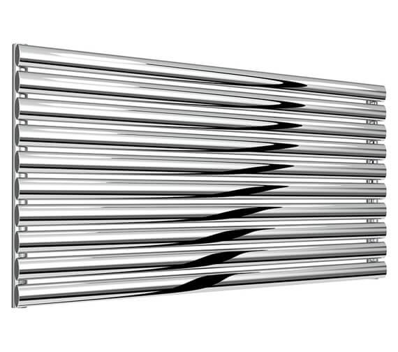Reina Artena 590mm High Single Panel Stainless Steel Radiator