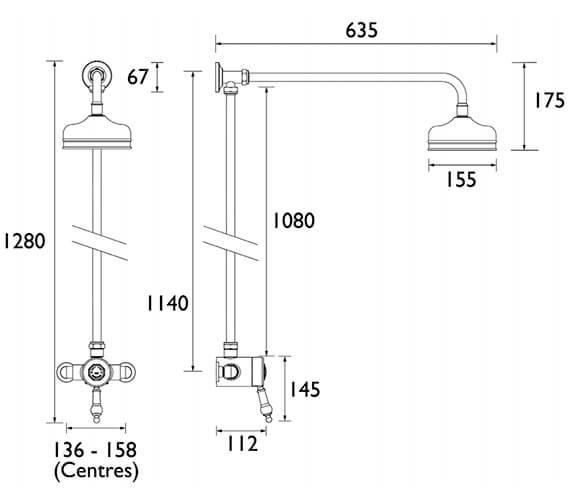 Technical drawing QS-V72730 / SGSIN03