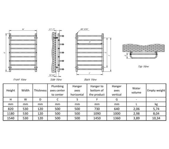 Technical drawing QS-V93909 / RNSBLB082