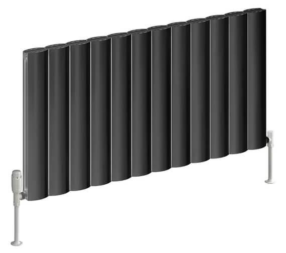 Alternate image of Reina Belva 600mm High Double Panel Horizontal Radiator