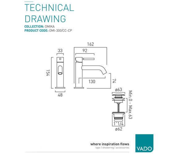Technical drawing QS-V99455 / OMI-300/SB-C/P