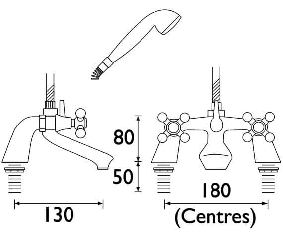 Technical drawing QS-V53089 / R BSM C