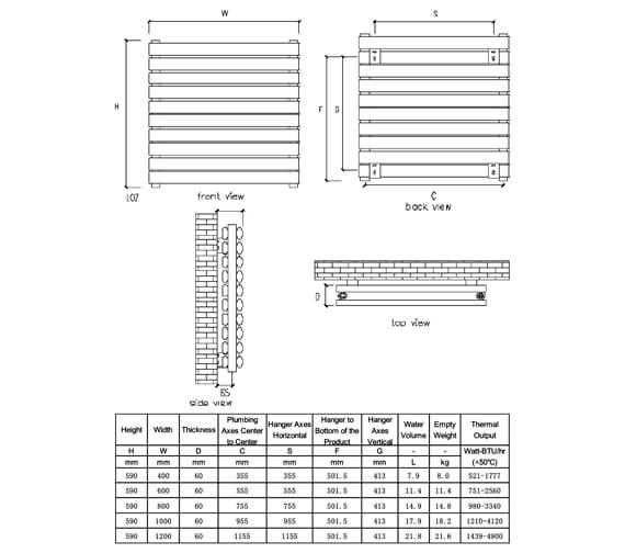 Technical drawing QS-V81097 / RNS-AT904PD