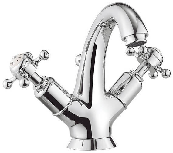 Alternate image of Crosswater Belgravia Highneck Monobloc Basin Mixer Tap