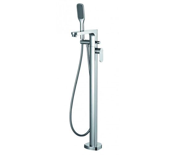 Flova Smart Floor Standing Bath-Shower Mixer Tap With Handset Kit