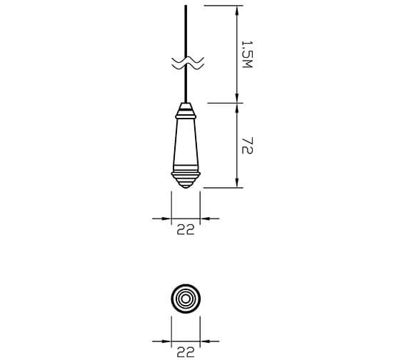 Technical drawing QS-V72508 / 6990C