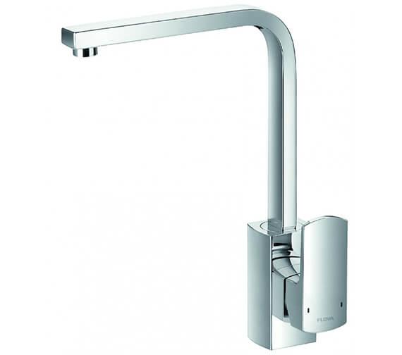 Flova Dekka Swivel Spout Single Lever Kitchen Sink Mixer Tap