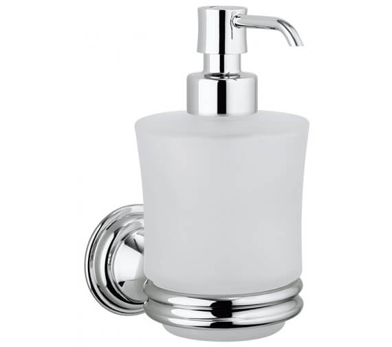Crosswater Belgravia Wall Mounted Glass Soap Dispenser