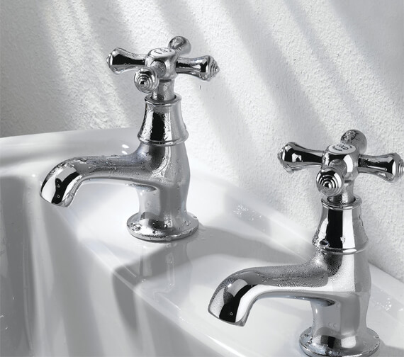 Additional image of Bristan Colonial Chrome Pair Of Basin Taps